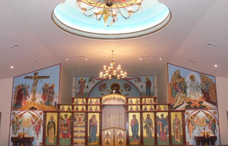 All saints iconography