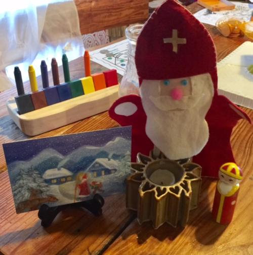Saint Nicholas puppet
