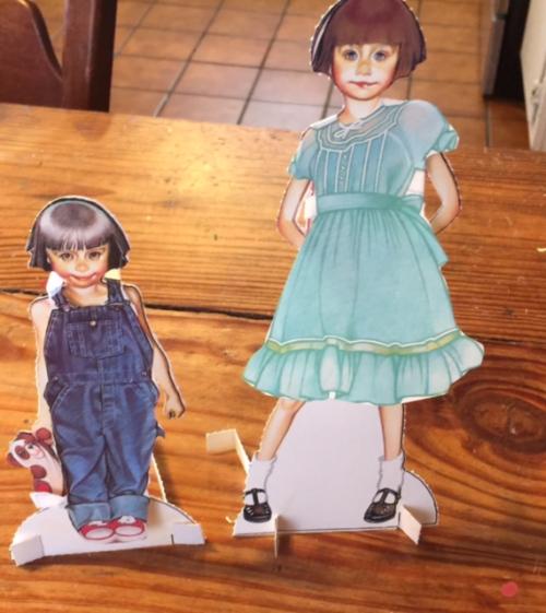 Ramona paper dolls